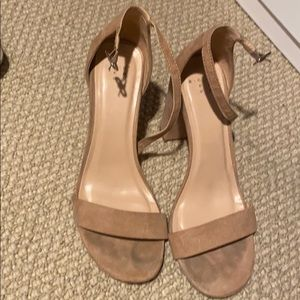 A new day   -Target brand 8 1/2 nude heels